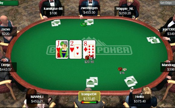 Screenshot Everest Poker Raum