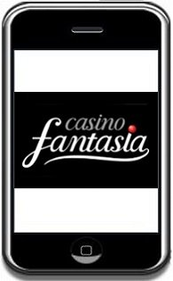 Screenshot der Casino Fantasia App