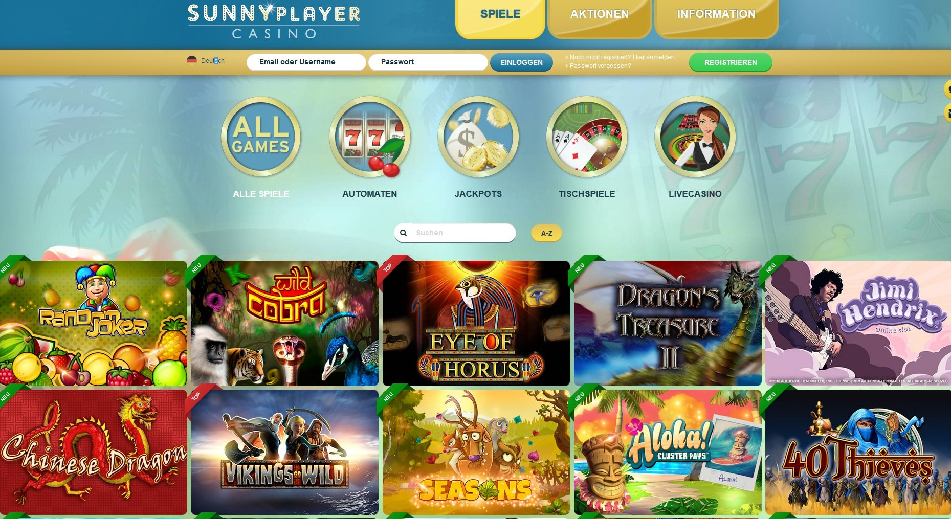 Screenshot-of-Sunny-Player-Casino-Games-Page