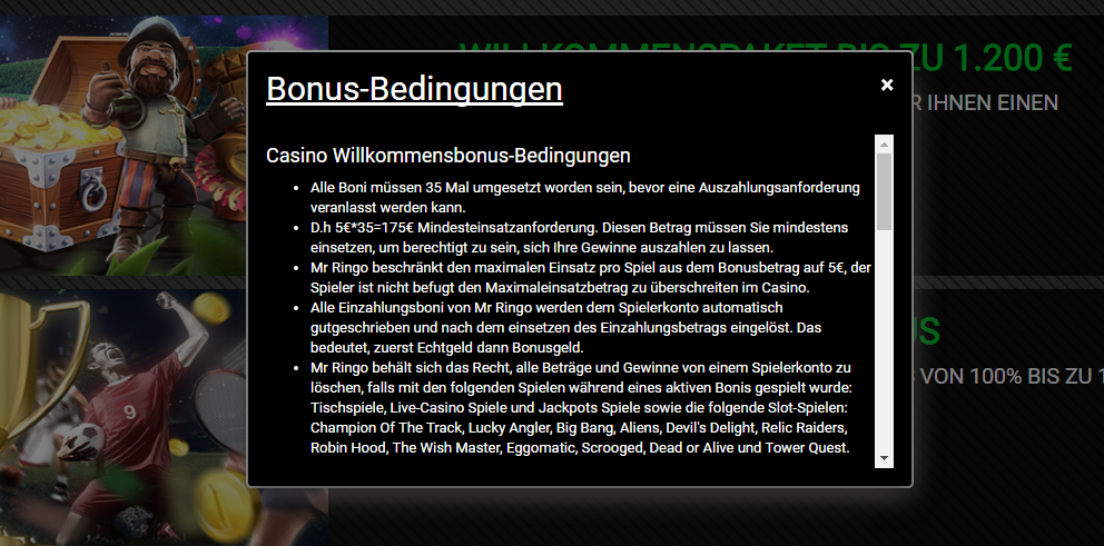 mr-ringo-aktionscode-bedingungen screenshot