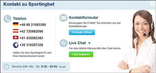 sportingbet-kontakte screenshot