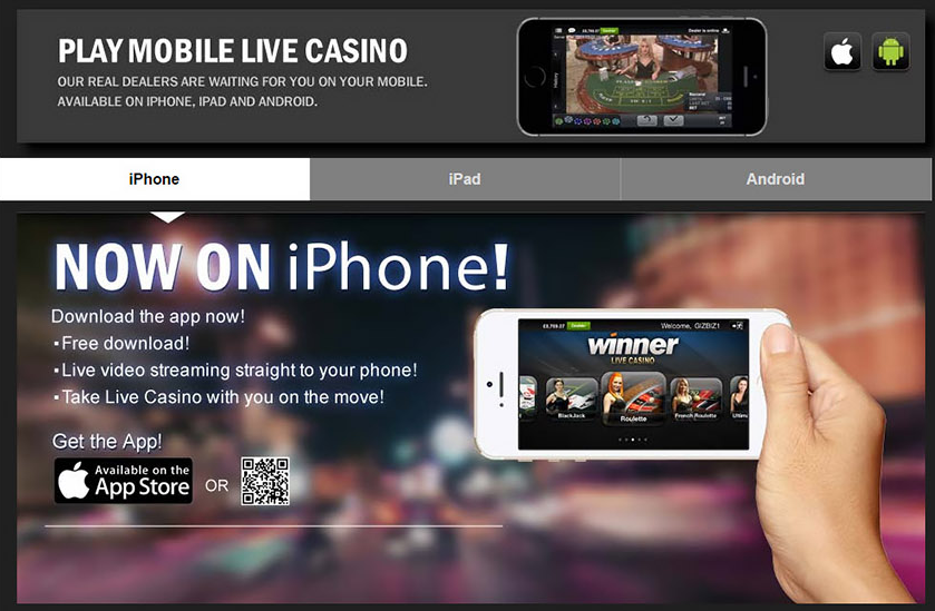 Download Winner Casino App screenshot