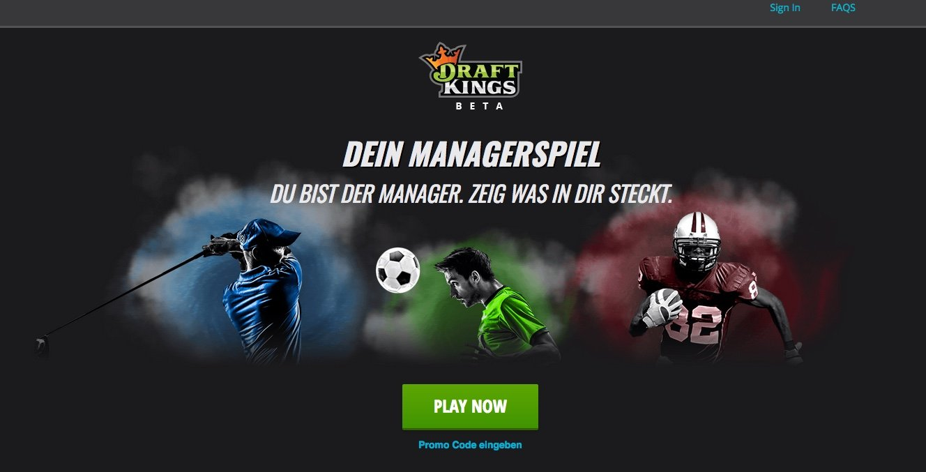 Draftkings Spieleauswahl